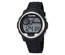 Herren-Armbanduhr Digital Quarz Plastik K5667/1