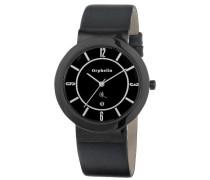 Orphelia Herren-Armbanduhr XL Analog Quarz Leder OR22670544