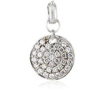 Damen-Charmsanhänger 925 Sterling Silber Zirkonia weiß 273240734L-1