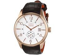 Cerruti 1881 Herren-Armbanduhr LIPARI Analog Quarz Leder CRA098C213D