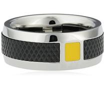 Herren Ring , Edelstahl, 59 (18.8), TRG004003-T59