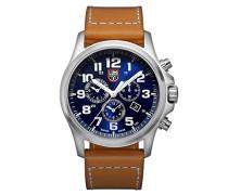 Atacama Field Herren-Armbanduhr Chronograph Quarz Leder - XL.1944