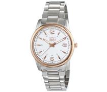 Damen-Armbanduhr RAVELLO Analog Quarz Edelstahl CRM103STR04MS