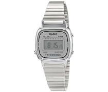 Collection – Damen-Armbanduhr mit Digital-Display und Edelstahlarmband – LA670WEA-7EF