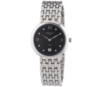 Regent Damen-Armbanduhr XS Analog Quarz Edelstahl 12220939