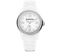 Orphelia Damen-Armbanduhr Analog Quarz Silikon OR25100011