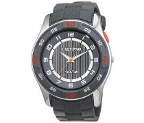 Calypso watches Jungen-Armbanduhr Analog Quarz Plastik K6062/1