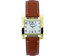 Damen-Armbanduhr 17137/P29GO Damen-Armband, Leder, Farbe: braun