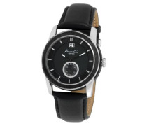 Herren-Armbanduhr XL Classic Analog Leder KC1856