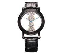Herren-Armbanduhr Analog Handaufzug Kunstleder BM331-602A