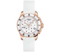 Certina Damen-Armbanduhr XS Chronograph Quarz Kautschuk C014.217.37.011.00