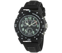 Unisex-Armbanduhr EXPANDER 90 Chronograph Quarz Leder R3271697025