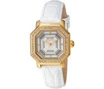 Damen-Armbanduhr Analog Quarz Leder BM168-286