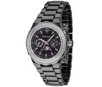 Yves Camani Damen-Armbanduhr Laval Analog Quarz YC1009-F