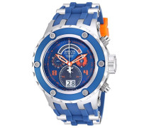 Subaqua Herren Quarzuhr/Armbanduhr mit blauem Zifferblatt Chronograph-Anzeige, blaues Silikon-Armband, 16250