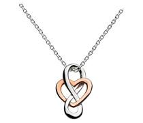 Damen-Halsband 925 Sterling Silber 9207RG