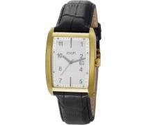 Herren-Armbanduhr Transcendence Analog Quarz Leder JP100741F01