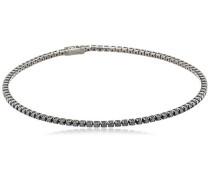 women Damen-Armband 925 Silber Zirkonia schwarz 17.5 cm - C1423B/90/43/17,5