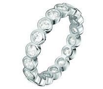 Damen-Ring 925 Sterling Silber Zirkonia Embrace