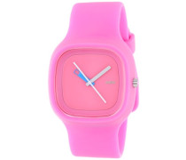 Unisex-Armbanduhr Analog Quarz Plastik rosa AL10014