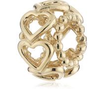 Damen-Bead 14 Karat 585 Gelbgold 750813