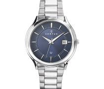 –616410–Zeigt Herren-Armbanduhr 10510262Analog Stahl Silber