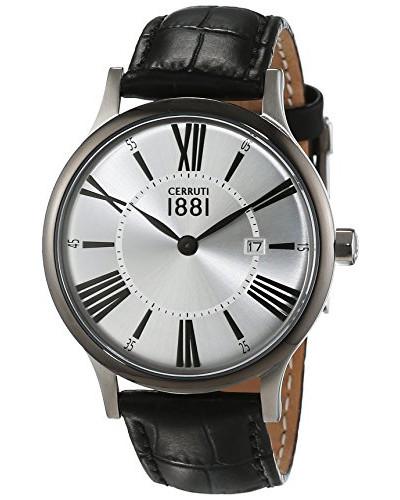 Herren-Armbanduhr SIENA Analog Quarz Leder CRA099W212C