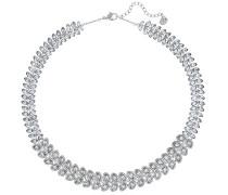Damen-Collier Baron All-Around Halskette Versilbert Kristall transparent 38.0 cm - 5117678