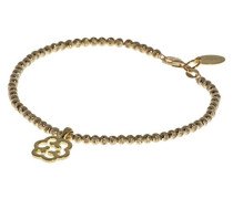 Armband Sterling Silber Gold Cloud klein 18cm