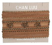 Damen Halskette aus Choker Nicht Metall - TH-NK-9047 Lion Gold