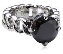 Damen-Ring Messing Betty II ss black
