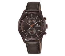 Herren-Armbanduhr Analog Quarz Leder 18316/1