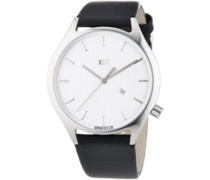 Xen Herren-Armbanduhr XL Analog Quarz Leder XQ0247