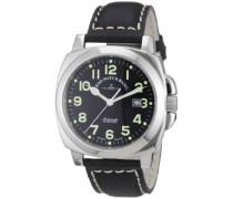 Herren-Armbanduhr XL Carre' OS Pilot Analog Automatik Leder 3554-a1