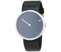 Herren-Armbanduhr Analog Quarz Leder 32251