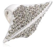 Jewelry Damen-Ring aus der Serie Ringe versilbert grau 4.4 cm verstellbar Gr. 51-59 271316134