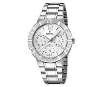 Damen-Armbanduhr Analog Quarz Edelstahl F16706/1