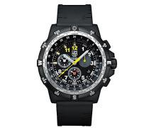 RECON Leader Herren-Armbanduhr Chronograph Quarz Plastik - XL.8841.KM.SET