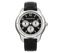 Karen Millen Damen-Armbanduhr Analog Quarz Leder KM129B