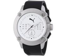 Puma Herren-Armbanduhr Man Pu-Hybrid Chrono Metal Chronograph Quarz PU103711002