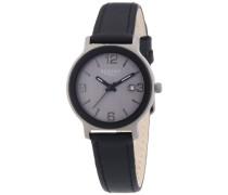 Regent Damen-Armbanduhr XS Analog Quarz Leder 12090274