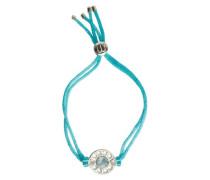 Damen-Armband Sterling-Silber 925 Blautopas 250 mm KRW005