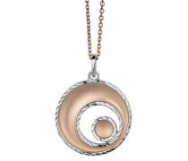 Damen Halskette 925 Sterling Silber 45 cm ZH-4811