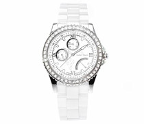 Damen-Armbanduhr Analog Quarz Premium Keramik Diamanten - STM15N1