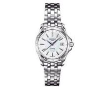 Damen-Armbanduhr XS Analog Quarz Edelstahl C004.210.61.116.00