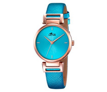 Damen-Armbanduhr Analog Quarz Leder 18229/2