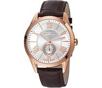 Pierre Cardin Herren-Armbanduhr Nîmes Grande Analog Quarz Leder PC106281S04