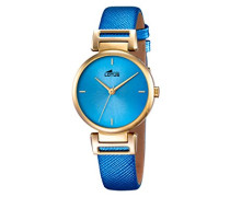 Damen-Armbanduhr Analog Quarz Leder 18228/3