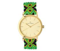 Maya  Women'- Armbanduhr Analog Quarz MY03GD 0.94.0057-grün)