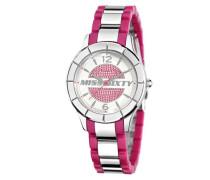 Miss Sixty Damen-Armbanduhr XS Smally Analog Edelstahl SG8005